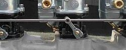 Standard 3 Carburetor Linkage   5 1/2 Spacing-0