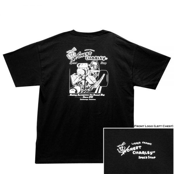 T-Shirt - Making Horsepower - Black-0
