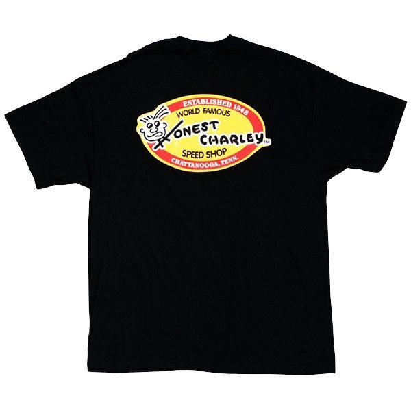 Honest Oval T-Shirt | Black-0