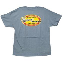 Honest Oval T-Shirt | Stone Wash Blue-0