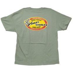 Honest Oval T-Shirt | Stone Wash Green-0