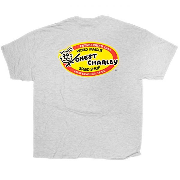 Honest Oval T-Shirt | Ash-0