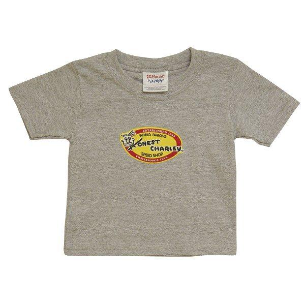 Honest Oval Child's T-Shirt | Ash-0