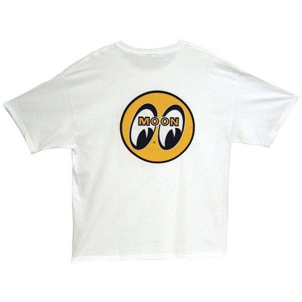 Mooneyes Original T-Shirt | White-0