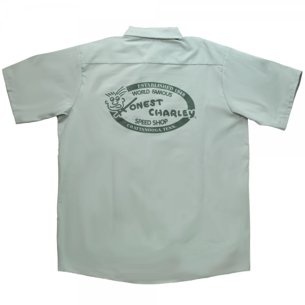 Honest Charley Work Shirt - Silver-10448