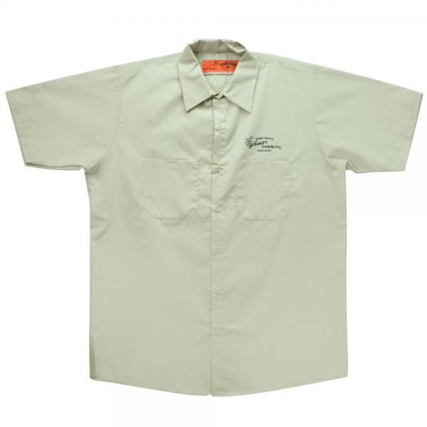 Honest Charley Shop Shirt - Khaki-0