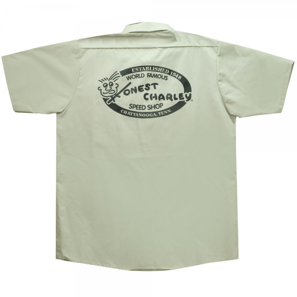 Honest Charley Shop Shirt - Khaki-10436