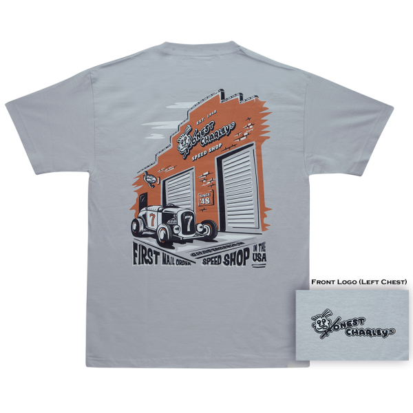 Honest Charley Store Front T-Shirt-0