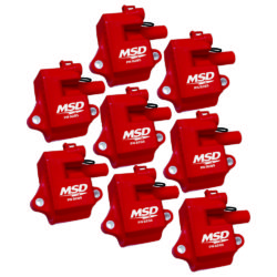 MSD Pro Power Coil Set | GM LS1/LS6 Engines | 8-Pack-0